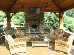 Kitchen Fireplace Design Ideas by Outdoor Kitchen And Fireplace Designs House Plans With Pools And