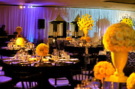 white and yellow wedding decorations black and yellow wedding