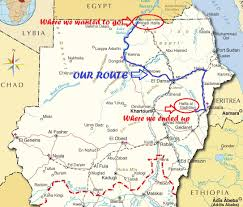 Sudan Africa Map by There Are 2 Halfas In Sudan Where Are We Road Blog A