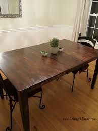 dark rustic dining table diy dining table ideas dining room table room and tables