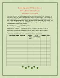 Pledge Sheets For Fundraising Template by Pledge Sheets Pto Today
