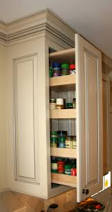 kitchen cabinet wall spice drawer i like that s it s above the range instead of below
