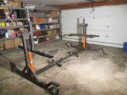 How To Build A Car Garage by How To Building Car Rotisserie Plans Ultimate Auto Cars