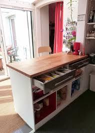 meuble plan travail cuisine meuble cuisine bar plan travail idées décoration intérieure