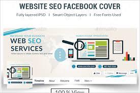 seo facebook cover templates free u0026 premium creative template