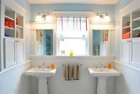 jack and jill bathroom decor yellow tsc