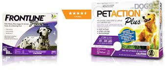 petaction flea u0026 tick medication for dogs and cats