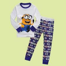 despicable me little boys u0027 minions know karate pajama set cartoon