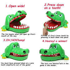 amazon com oun nana crocodile dentist crocodile biting finger