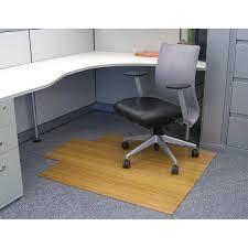 bamboo office chair mat modern chairs design
