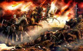 the four horsemen of apocalypse describing what is happening today