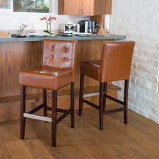 furniture mesmerizing leather bar stools with back and modern