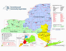 Map Of Brooklyn Ny Nys Correctional Facilities Map Nys Department Of Corrections