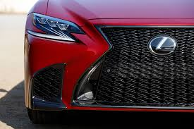 red lexus 2018 2018 lexus ls first drive not my father u0027s ls motor trend