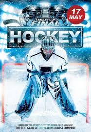 hockey templates for photoshop jun ice hockey stanley cup finals psd flyer template 8125 styleflyers