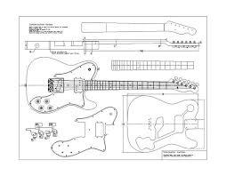 custom plans telecaster custom