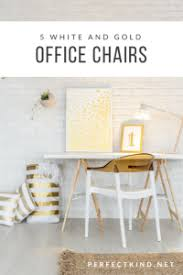 white gold office chair white and gold office chairs