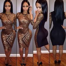 club dresses 2016 hot sale black club bodycon dress europe and the united