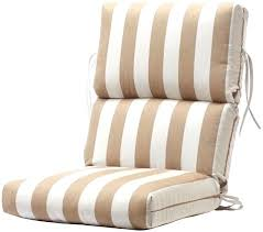High Back Patio Chair Cushions Outdoor Chair Cushions High Back High Back Patio Cushions