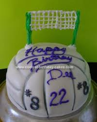 coolest volleyball birthday cake volleyball birthday cakes