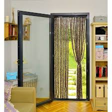 rideau de rideau de porte chenille bicolore protection maison