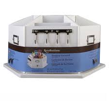 Christmas Ornament Storage Michaels by Recollections Storage Desktop Carousel