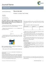latex templates latex article template latex communication
