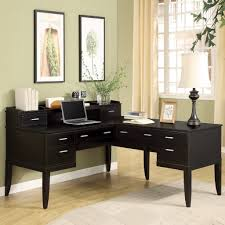 Small Corner Table by Furniture Small Black Stained Wood Corner Computer Table With With