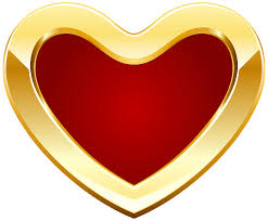 solid heart clipart 45