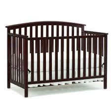 Graco Convertible Crib Bed Rail Graco Freeport 4 In 1 Convertible Crib Cherry Walmart