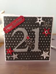 21 Birthday Card Design 21st Birthday Card U0027stars U0027 By Nicky M U2026 Pinteres U2026