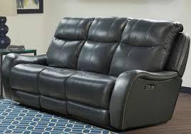 mammoth denim dual power reclining living room set from parker