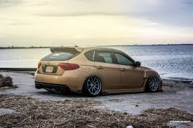 stanced subaru stanced subaru impreza hatchback cartuning best car tuning