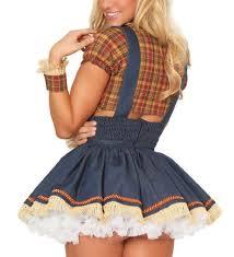 Womens Scarecrow Halloween Costume Amazon 3wishes U0027seductive Scarecrow Costume U0027 Scarecrow