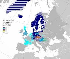World Religions Map European Wars Of Religion Wikipedia