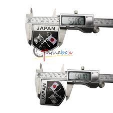 honda lexus cars 1 japanese jdm racing red sun flag badge for japan cars toyota honda lexus etc jpg