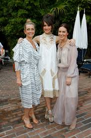 zimmermann clothing hosts a poolside dinner for zimmermann all the rage