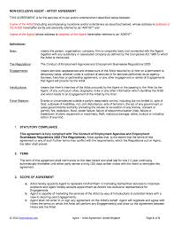 Contract Templates Free Word Templates Agency Artist Contract Template Uk Use Only