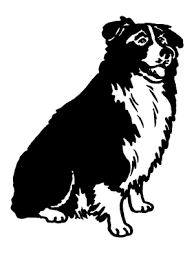 australian shepherd clipart border collie clipart many interesting cliparts