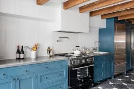 Blue Kitchen Cabinets 40 Colorful Kitchen Cabinets To Add A Spark To Your Home