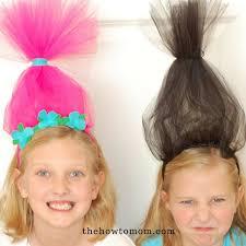 hair headbands easy trolls headband diy the how to