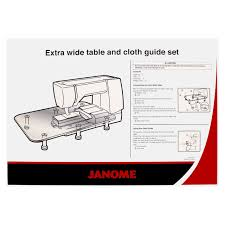 sewing accessories extension tables janome extension tables