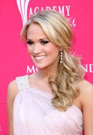 country hairstyles for long hair carrie underwood loose ponytail hair style for long hair loose