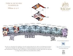 tuscany cluster 2 4 6 floor plan megaworld properties at fort advertisements