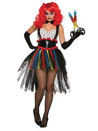 scary clown halloween mask girlie evil clown costume x76975 fancy dress ball