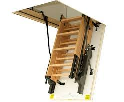 electric attic folding stairs space saving loft ladders beautiful