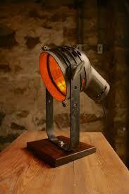 Steampunk Desk Lamp Vintage Movie Spotlight With Oak Desk Lamp Id Lights