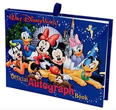 amazon com walt disney world exclusive official autograph book