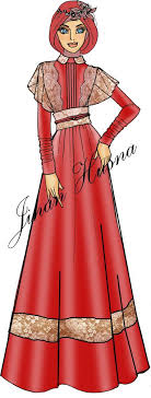 model baju muslim terbaru fashion design muslim