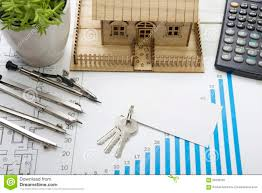 model house construction plan for house building keys blank royalty free stock photo